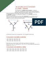 Simplificación de Circuitos Con La Conversión Estrella