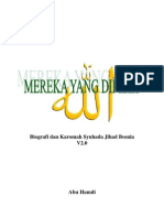 Biografi dan Karomah Syuhada Jihad Bosnia