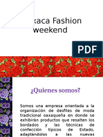 Oaxaca Fashion Weekend