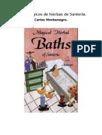 Baños Mágicos de Hierbas de Santería-carlos Montenegro