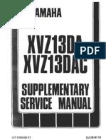 17052931 1986 1993 Yamaha Service Manual XVZ1300 Venture