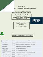 MDS 501-Presentation - Group 1 - Pr 2 Westernizing Third World