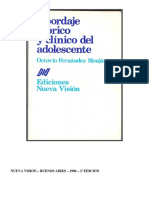 Caracteropatias y Cuadros Fronterizos en La Adolescencia f Moujan Cap Xvii