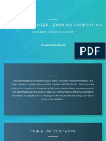 Deep Learning Handbook