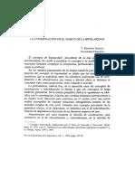 La coordinación en el marco de la bipolaridad