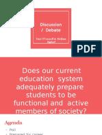 debate presentation