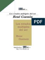 Estados Multiples Del Ser - Guenon