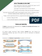 Explicacic3b3n Tipos de Puentes