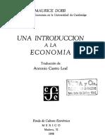 Dobb - Introduccion a La Economia