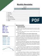 Monthly Newsletter June 2010