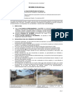 Informe Nº 018-2017,Njcp - Situación Actual E.T Los Sauces