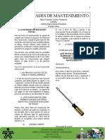 Solución de La Guía 2 PDF- Mantenimiento