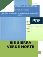 Eje Sierra Verde Norte Alejandro