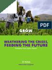 Weathering the Crises, Feeding the Future