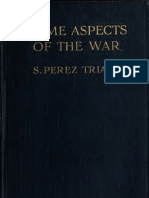 (1915) Some Aspects of the War Santiago Perez Triana, 1858-1916