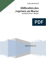 Difficultés Des Entreprises Au Maroc 1