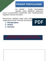 Prinsip – Prinsip Penyuluhan. Mk 9 Pptx