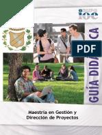 Maestria en Gestion y Direccion de Proyectos