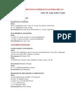 Dosis Medicamentos en Emergencias Pediatricas Ultimo