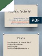 Análisis Factorial Medición 2