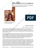Un Modelo Historico de La Relacion Entre Prensa y Poder en Mexico en El Siglo Xx