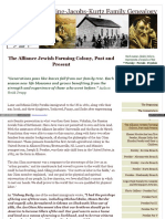 Allianceperskiefamilygenealogy Com the Alliance Jewish Farmi (1) (1)