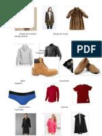 Vestimenta en Ingles