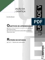 Texto 07 - A Avaliação Da Pratica Didatica