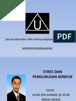 Stres Dan Pengurusan Konflik - Bab 5 (Tingkatan 2)