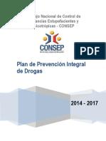 Plan de Prevención Integral de Drogas