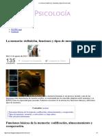 La Memoria_ Definición, Funciones y Tipos de Memorias