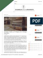 Teología-Sistemática-Puntos Fuertes y Peligros de la