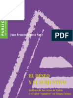 Mesa Sanz Francisco - El Deseo Y El Subjuntivo