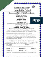 2010 Transition Invitation