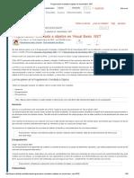 Programación Orientada a Objetos en Visual Basic