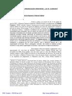 A Nova Lei de Organização Criminosa - Lei Nº. 12.850-2013 1