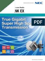 NEC IPasolink EX Brochure