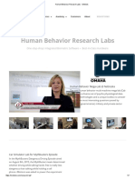 Human Behaviour Research Labs - IMotions
