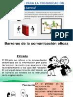Barreras Para La Comunicacion Eficaz Comportamiento Organizacional