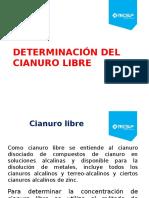 Unidad 7.2 Determinacion Del Cianuro Libre (1)