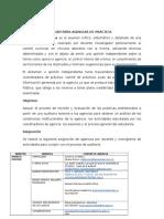 Auditoría Agencias de Práctica