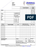 NPA Laboratories Sample Submit Form