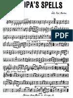 Jelly Roll Morton - Grandpa's Spells-'25-  Small band (3 sax +3brass + rhythm)