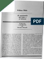 matrimonio del cielo y del infierno, con prólogo de Salvador Elizondo..pdf