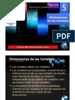 05 Dimensiones de Las Variables