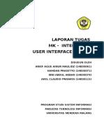 Makalah User Interface Design