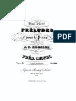 Chopin Op 28 Preludes
