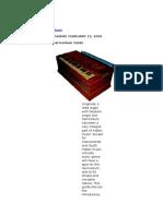 Harmonium Guide