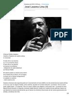 El Curso Délfico de José Lezama Lima II
