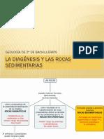 La Diagénesis y Las Rocas Sedimentarias